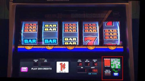 Bingo Based Slot Machines